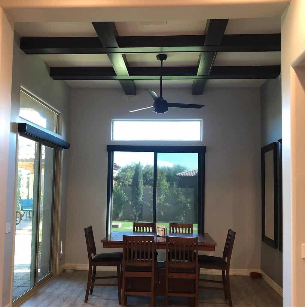 ceiling dining room ideas qchinteriors