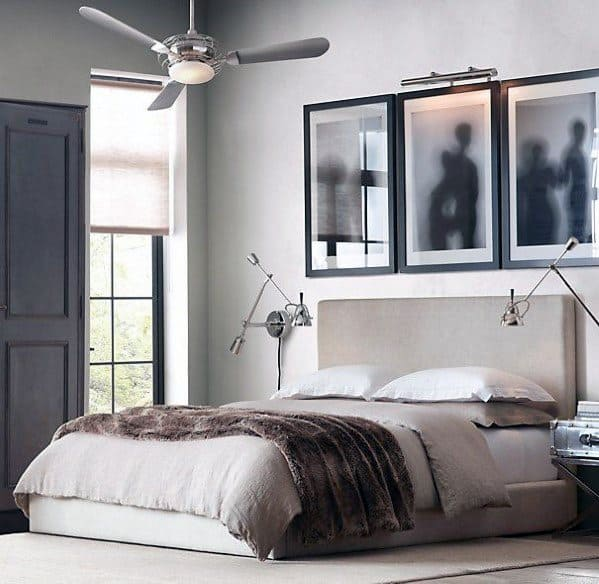 Ceiling Fan With Wall Lights Bedroom Lighting Ideas