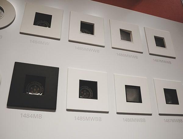 Ceiling Light Recessed Can Square Modern Trims 2019 Nahb Show Las Vegas