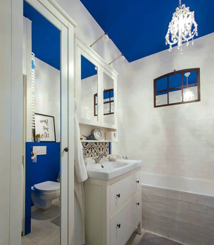 Ceiling Paint Small Bathroom Paint Ideas Homestagerka