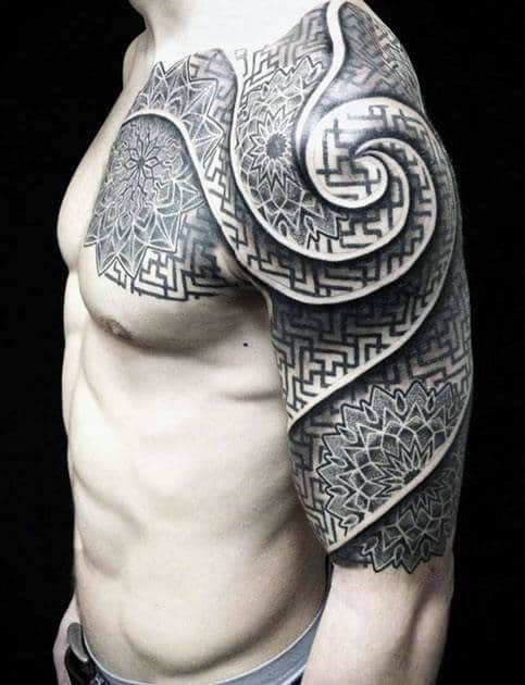 Celtic Half Sleeve Tattoos For Men