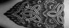 30 Celtic Owl Tattoo Designs For Men – Knot Ink Ideas