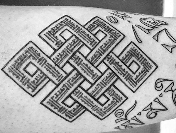 Celtic Symbolic Tattoos For Men Endless Knot Meaning