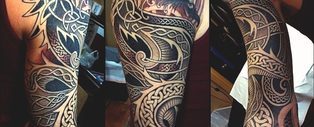 40 Celtic Tattoos For Men – Cool Knots And Complex Curves