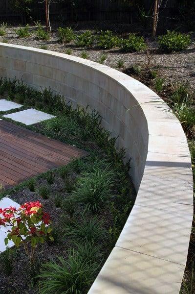 Cement Retaining Wall Ideas