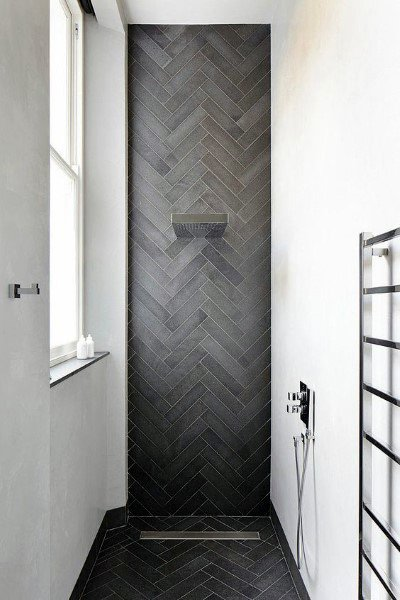 Ceramic Tile Bathroom Showers