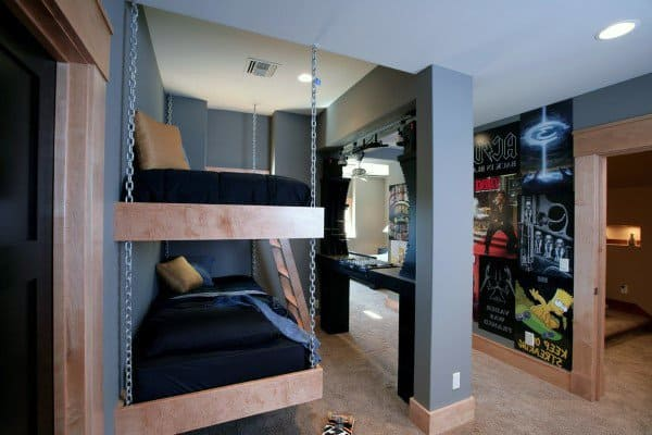 Chain Hung Bunk Bed Ideas