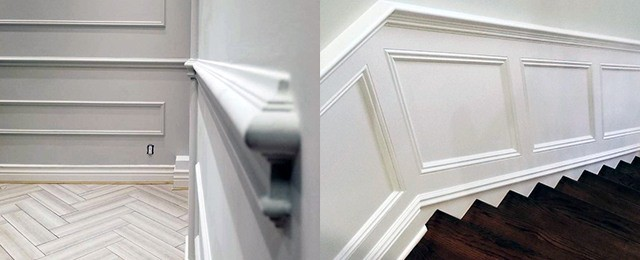 Top 70 Best Chair Rail Ideas – Molding Trim Interior Designs