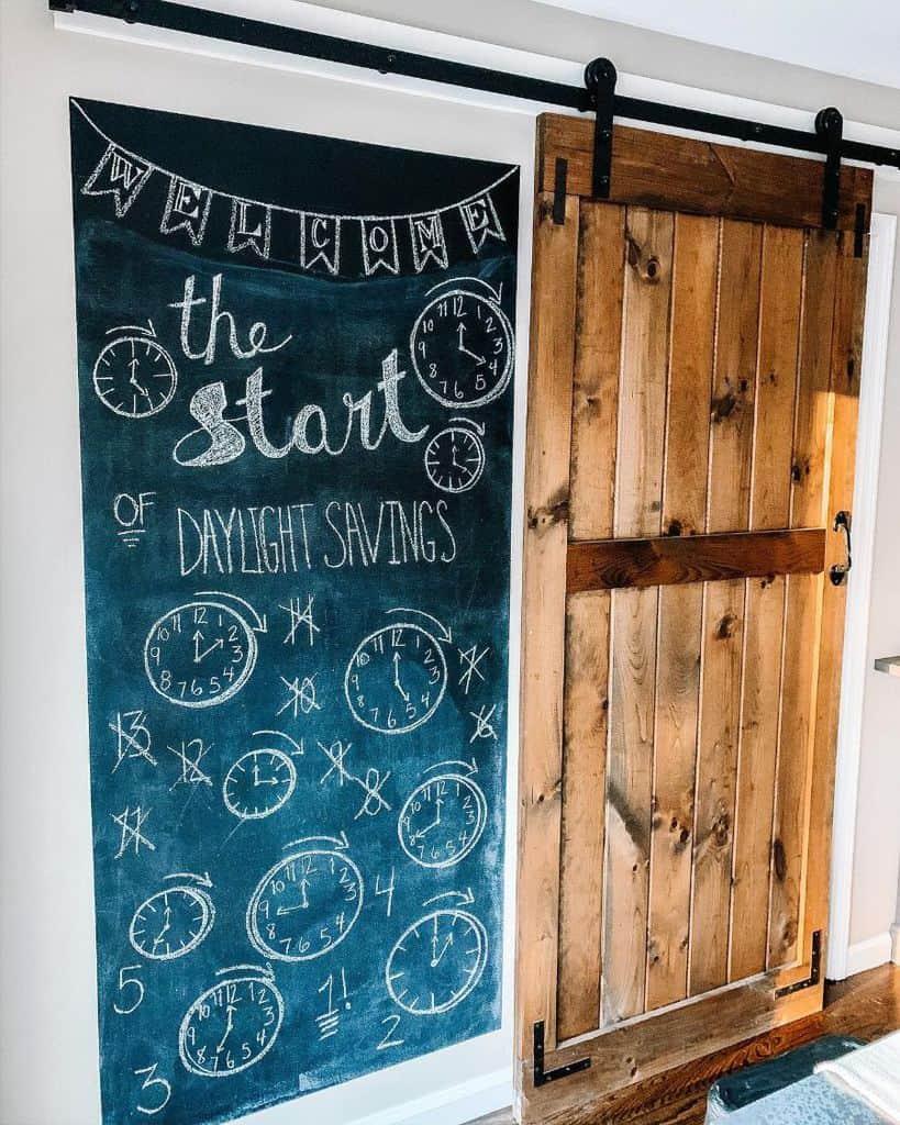 Chalkboard Paint Wall Covering Ideas