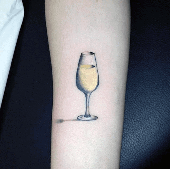Champagne Tattoos For Men