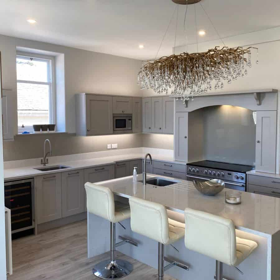 chandelier kitchen lighting ideas justkitchensinverness