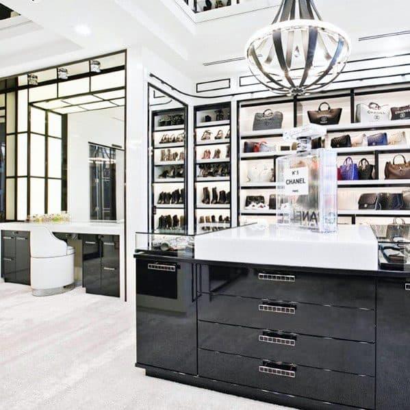 Chandelier Magnificent Closet Lighting Design Ideas
