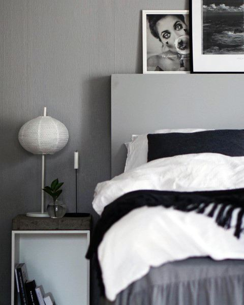 Charcoal Grey Bedroom Ideas
