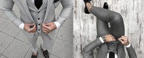 Top 30 Best Charcoal Grey Suit Black Shoes Styles For Men – Men's Fashion Ideas