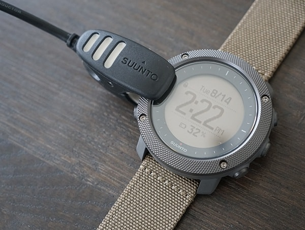 Charging The Suunto Traverse Alpha Watch