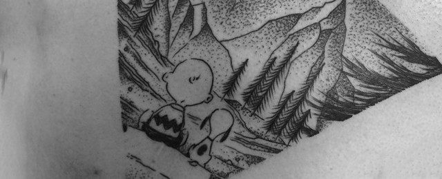Charlie Brown Tattoo Ideas For Men