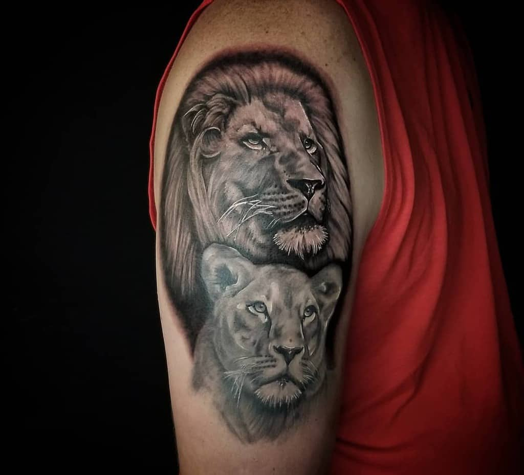 Chattanooga Lioness Tattoo