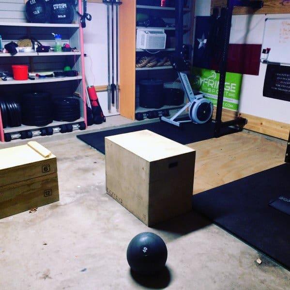 Cheap Garage Gym Ideas