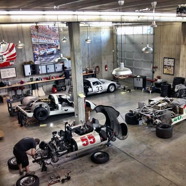 Garage Man Cave Designs Create The Beauty Of Your House Modern Garage Picture