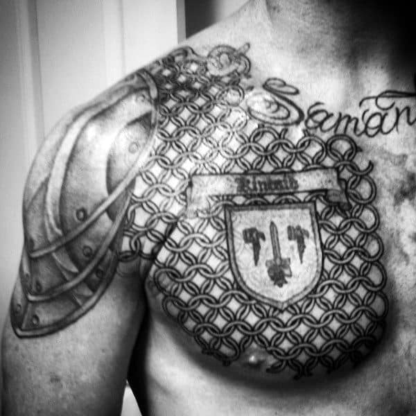 Top 93 Best Armor Tattoo Ideas 2020 Inspiration Guide