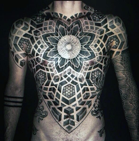 f03f9ab59ca1f Chest Cool Mens Sacred Geometry Mens Tattoo Inspiration