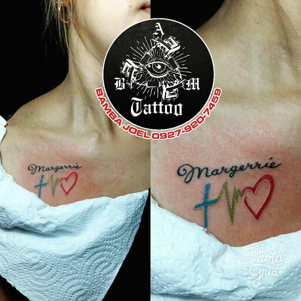 chest faith hope love tattoos bamskietatts