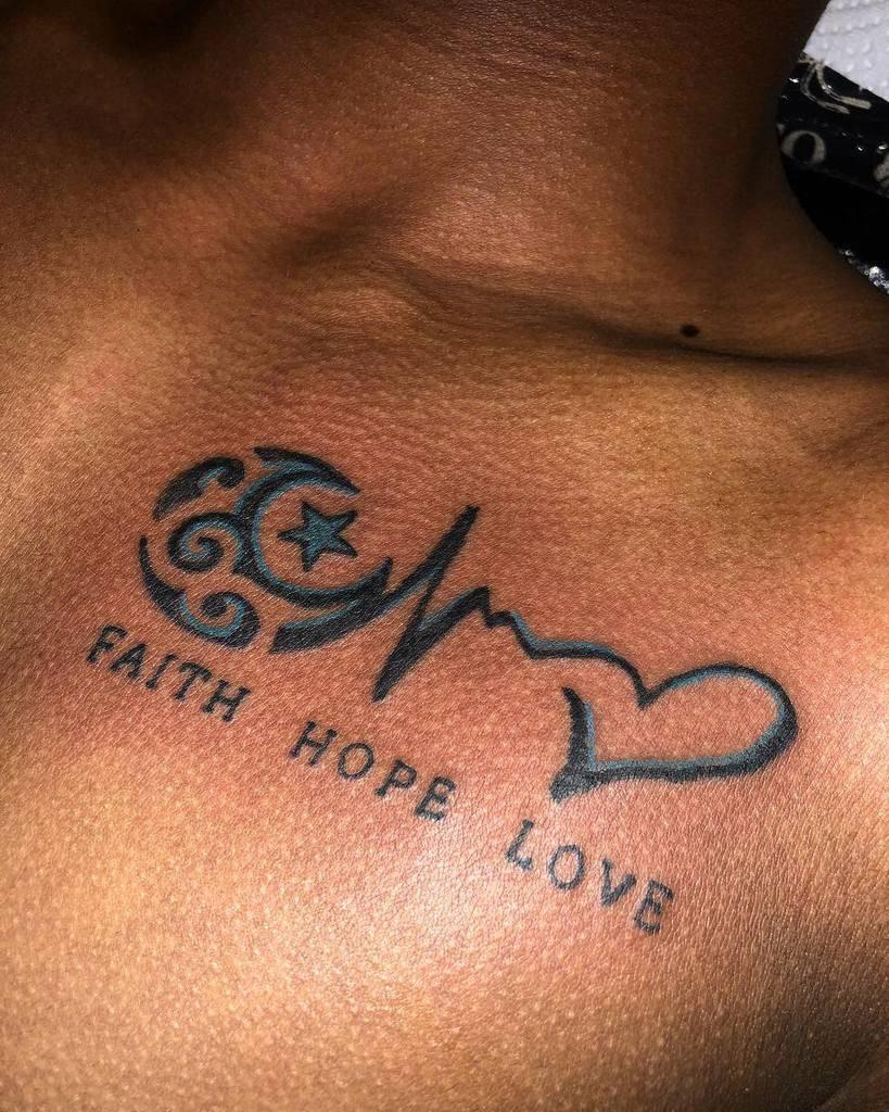 chest faith hope love tattoos lenz_ink