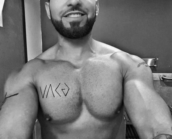 Chest Guys Tattoo Ideas God Is Greater Than The Highs And Lows Designs