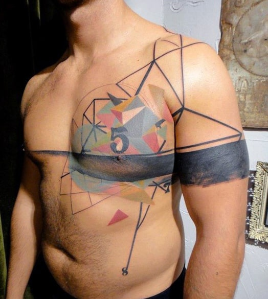 Chest Piece Tattoos For Men