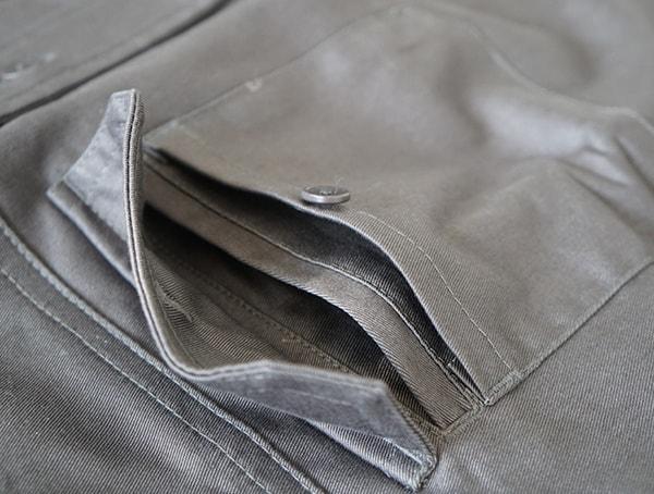 Chest Pocket Mens Work Shirts Grey United By Blue Holt