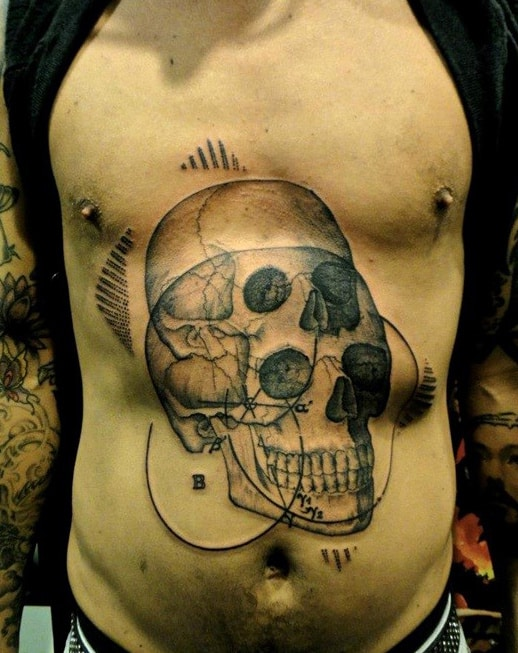 Chest Quote Tattoos For Men