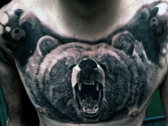 Top 87 Men's Chest Tattoo Ideas [2021 Inspiration Guide]