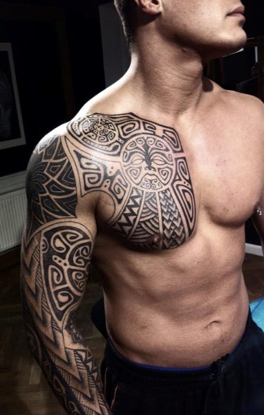 Chest Tattoo Designs For Men