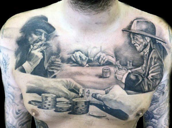 Chest Tattoos Designs For Men