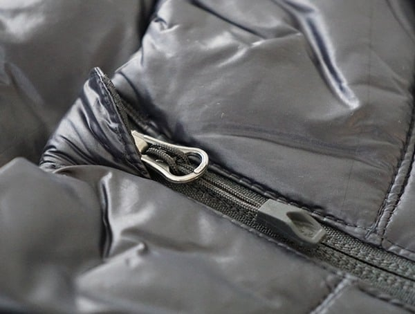 Chest Zipper With Waterproof Cover Detail Mens Spyder Syrround Down Jacket