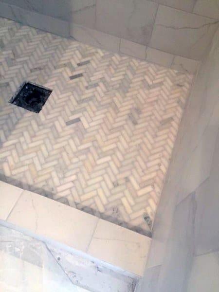 Chevron Design Ideas For Bathroom Flooring