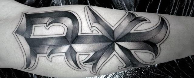 Chi Rho Tattoo Designs For Men