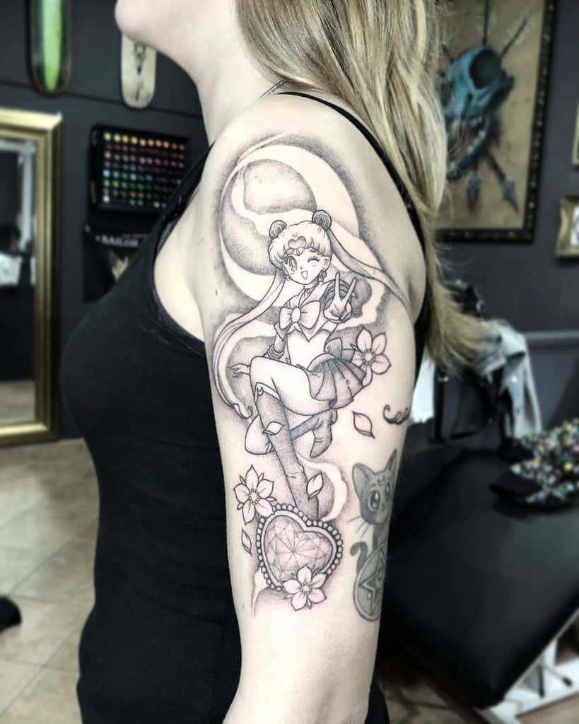 Chibi Sailor Moon Tattoo