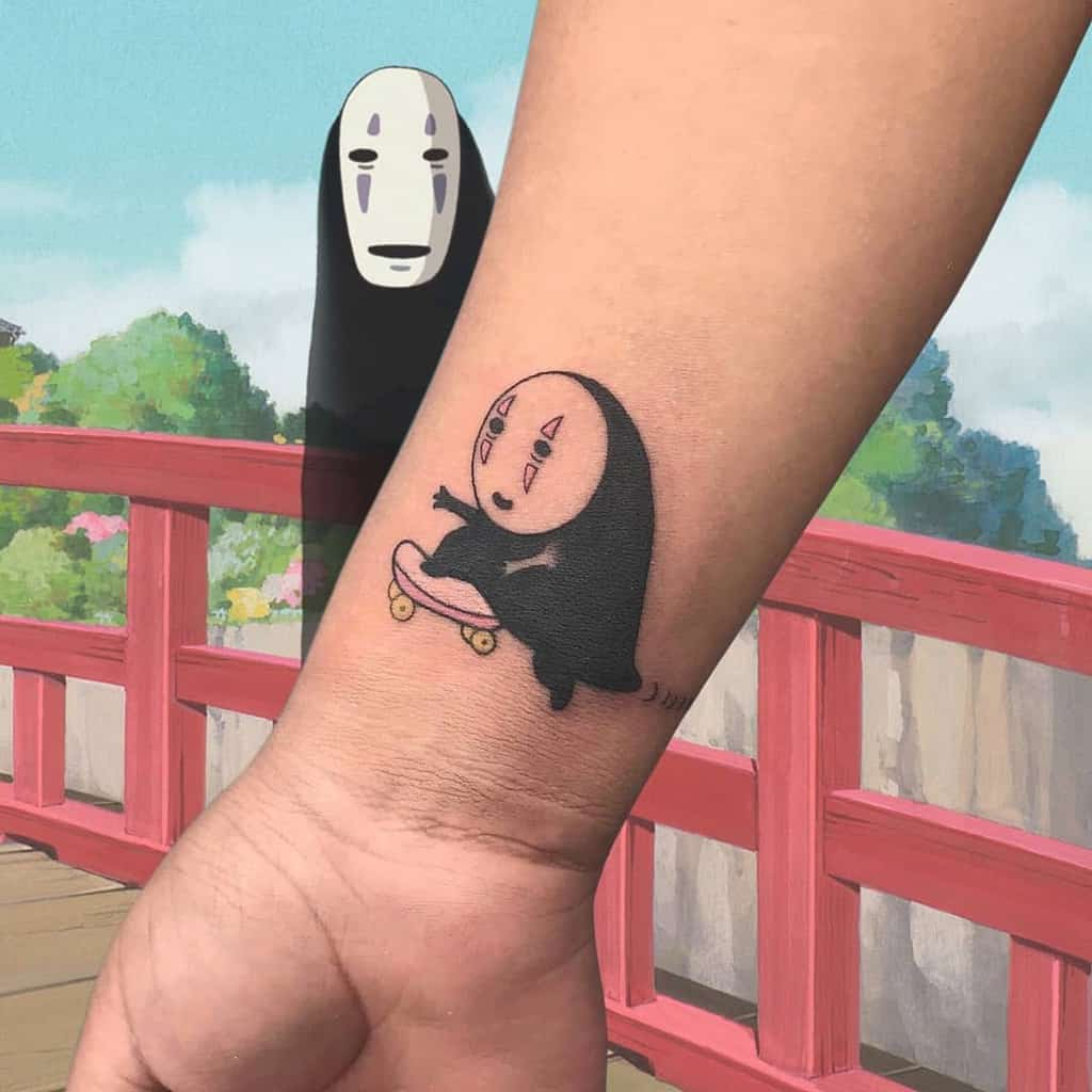 Chibi Supercute Spirited Away Tattoo