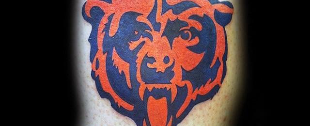 Chicago Bears Tattoos For Men