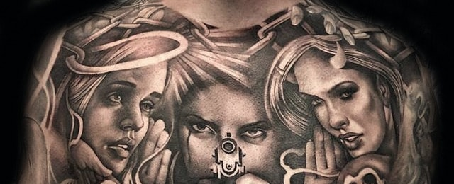 Chicano Tattoos For Men