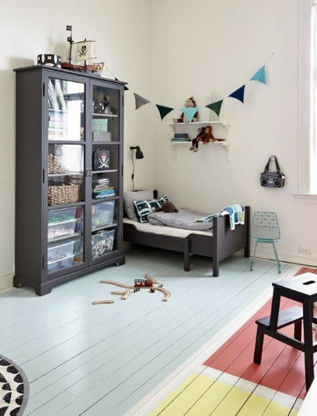 Childrens Room Colorful Home Design Ideas Painted Floor