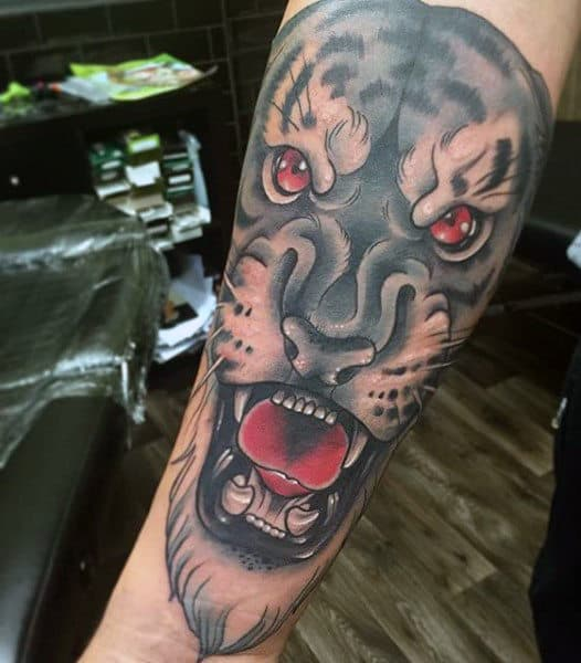 Chinese Tiger Tattoo For Men
