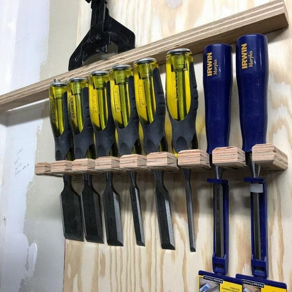 Chisel Tool Storage Ideas