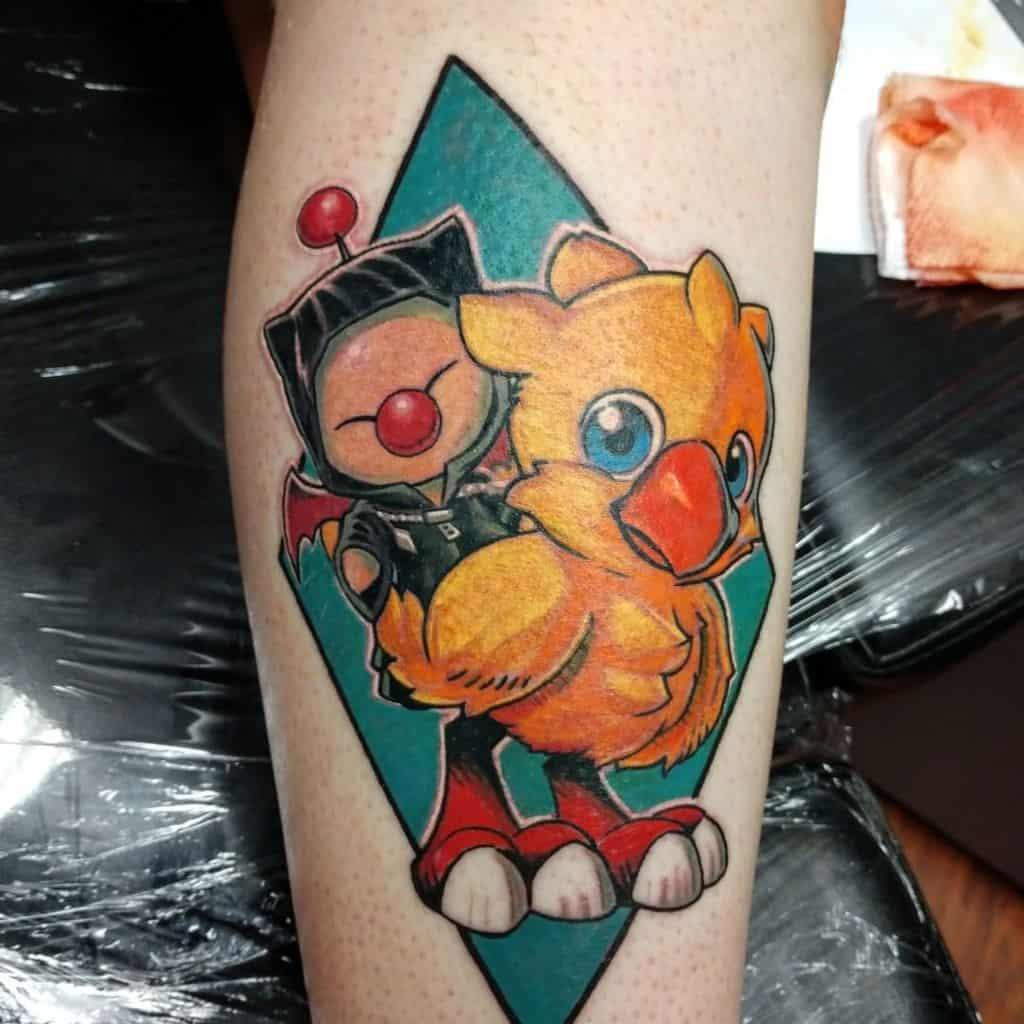Chocobo Kingdom Hearts Tattoo