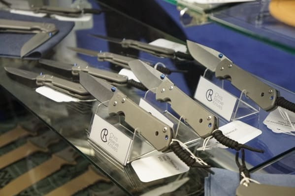 Chris Reeves Knives Collection Shot Show 2018