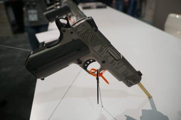 Christensen Arms 1911 Slide Finish Shot Show 2018