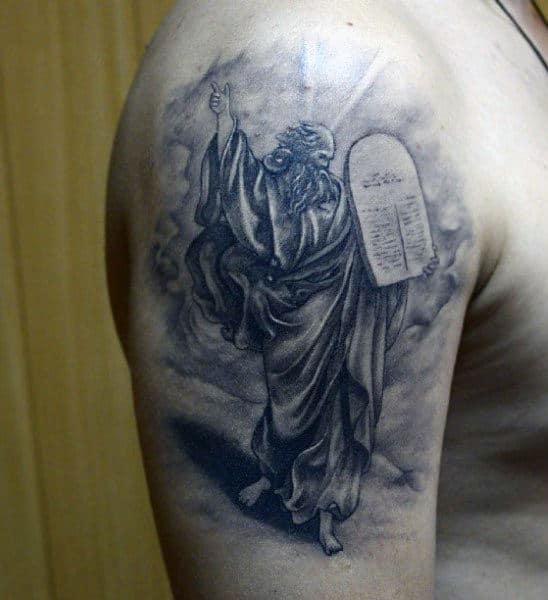 Christian Scripture Tattoos Ten Commandments