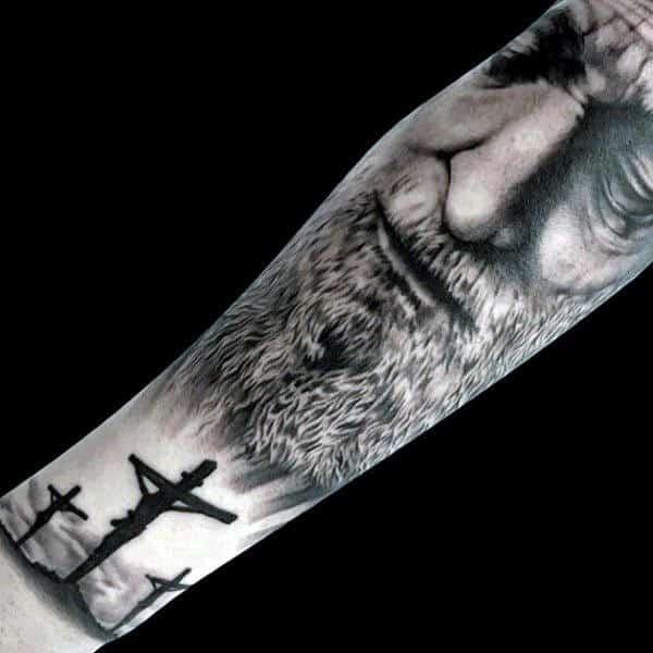 Christian Wrist Tattoos For Men