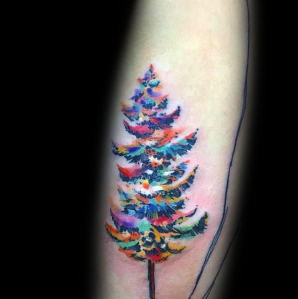 40 Christmas Lights Tattoo Ideas For Men Festive Bulb